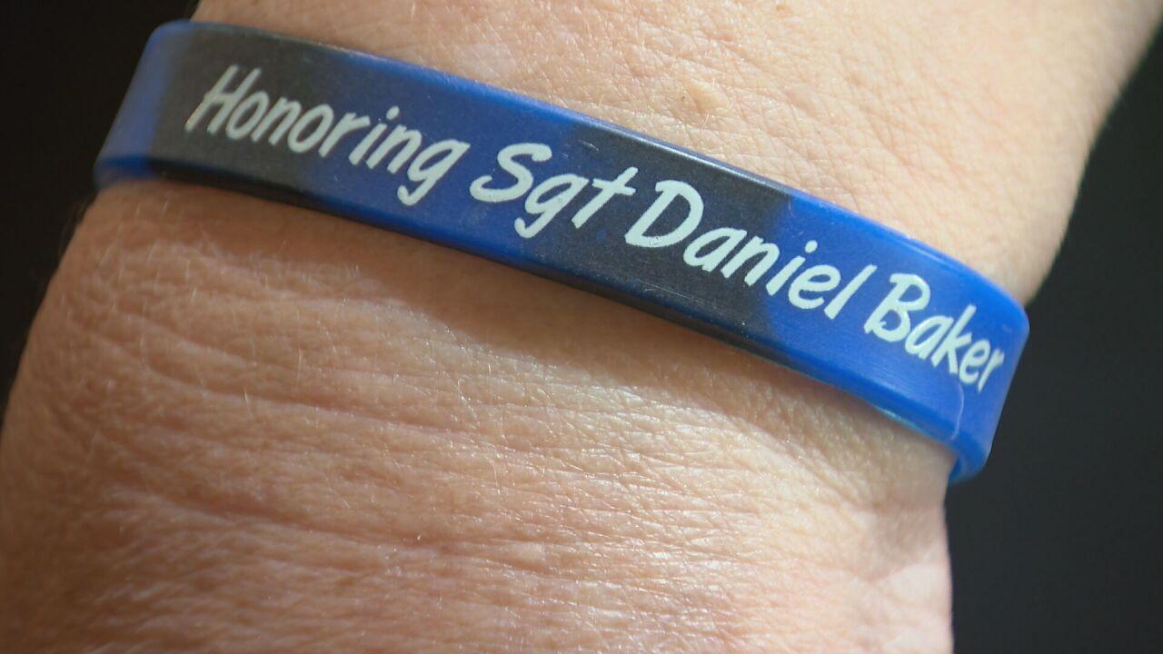 honoring sgt. daniel baker bracelet