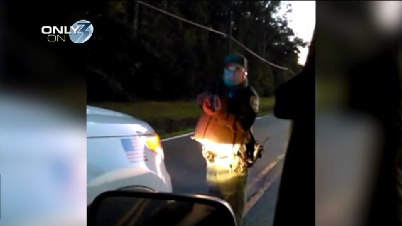 Chesapeake park ranger caught on camera pointing pistol at couple leaving park past closingtime