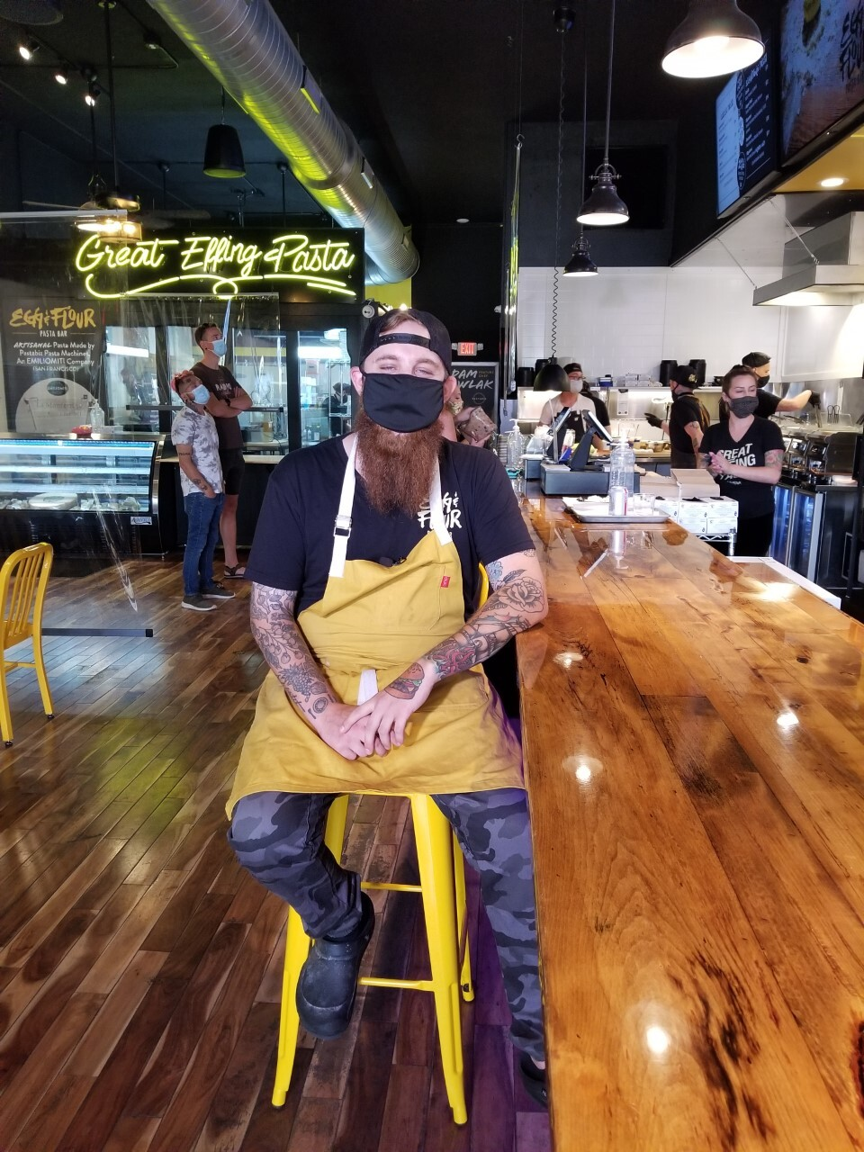 Owner Adam Pawlak said he waited so long to reopen because he wanted to do it right and follow all the rules.