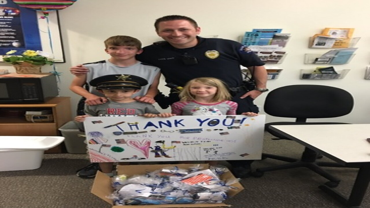 Outpouring of support for local law enforcement