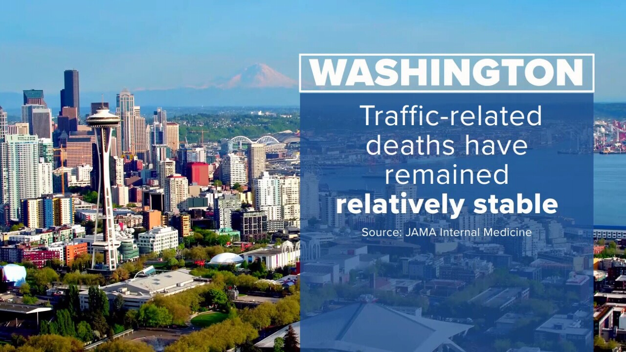 (JAMA study finds DUI fatalities remained stable in Washington state)