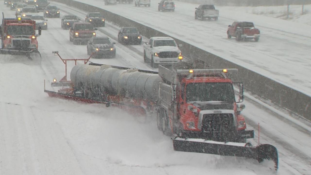 Snow plow drivers Feb 15