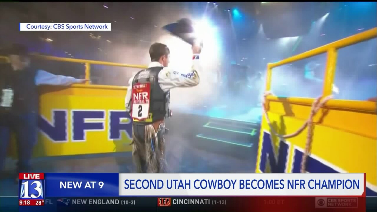 Family of legendary Utah cowboy thrilled after local talent wins world championship