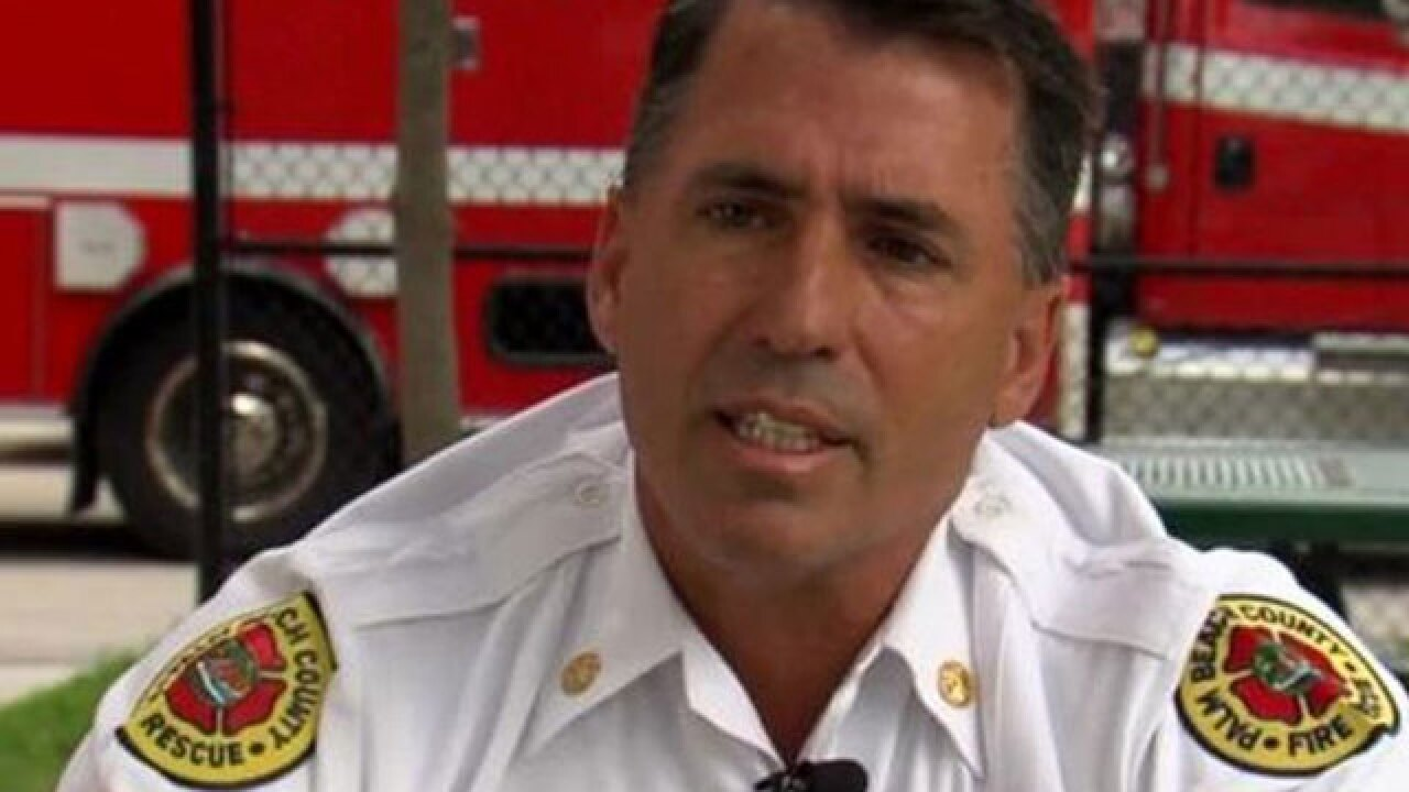 Palm Beach County's top fire Chief Jeff Collins resigns amid sexual harassment lawsuits