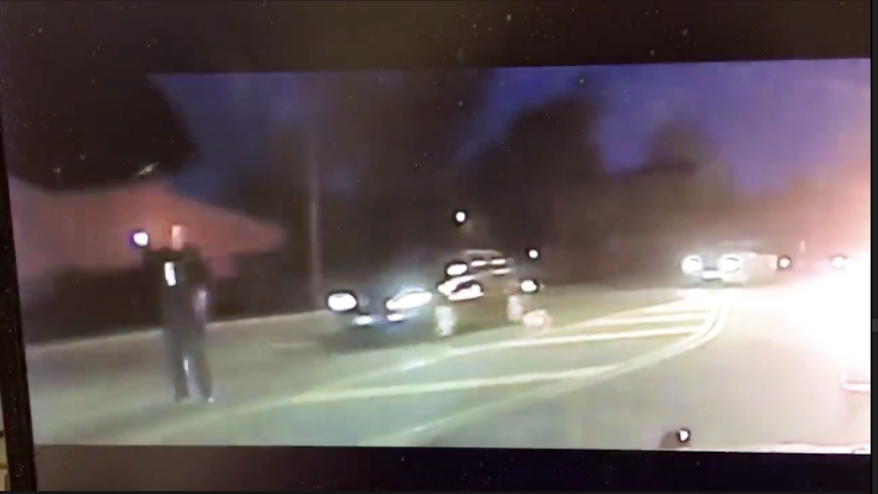 Jarring video shows distracted driver hit police officer in Ohio