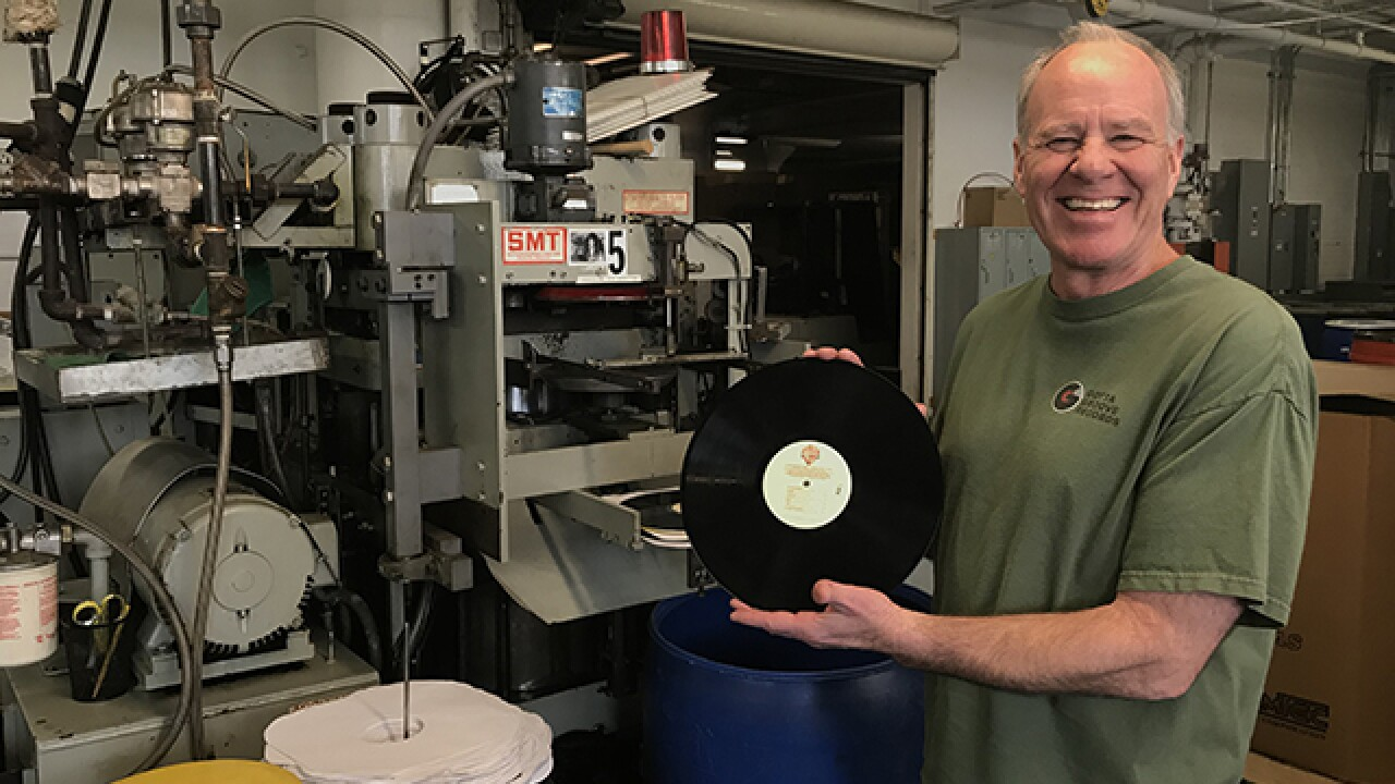 This Cleveland company is keeping vinyl alive