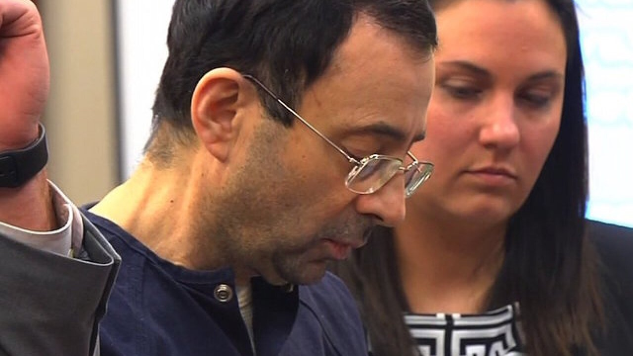 Larry Nassar appeals his conviction