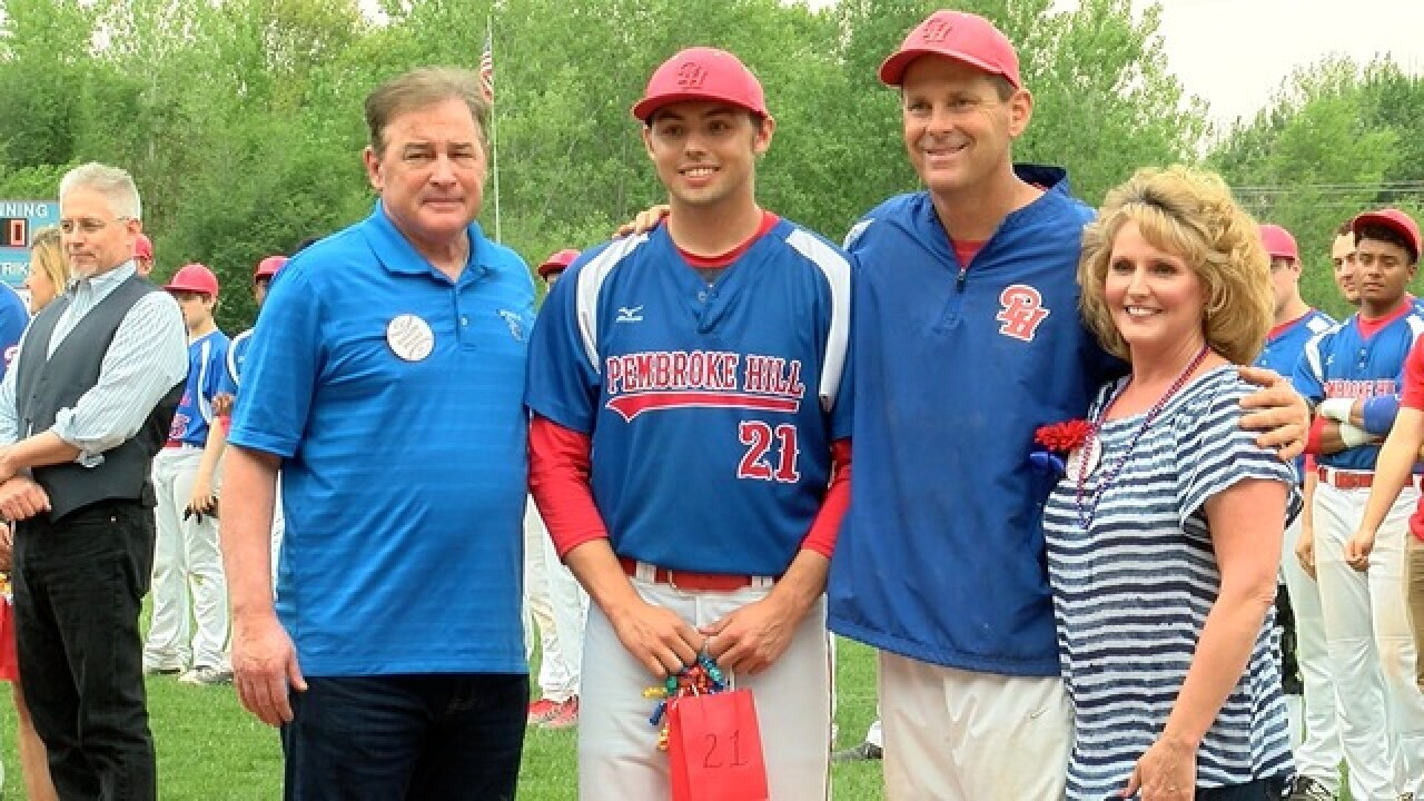 Three Generations of Baseball Players