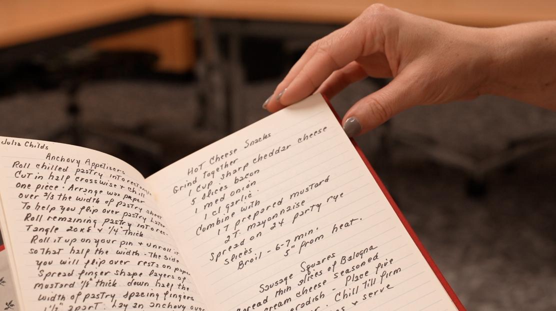 Handwritten manuscript cookbooks