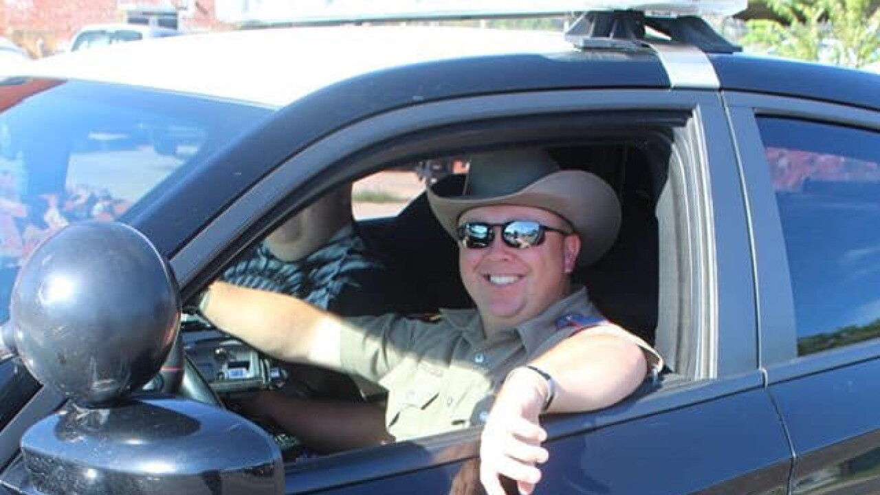 DPS Trooper Chad Walker