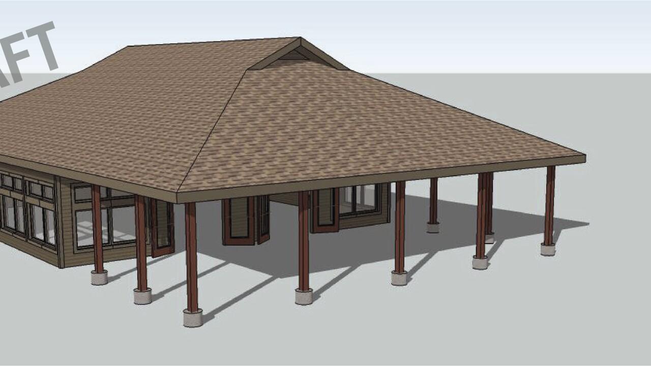 Draft 3D Rendering