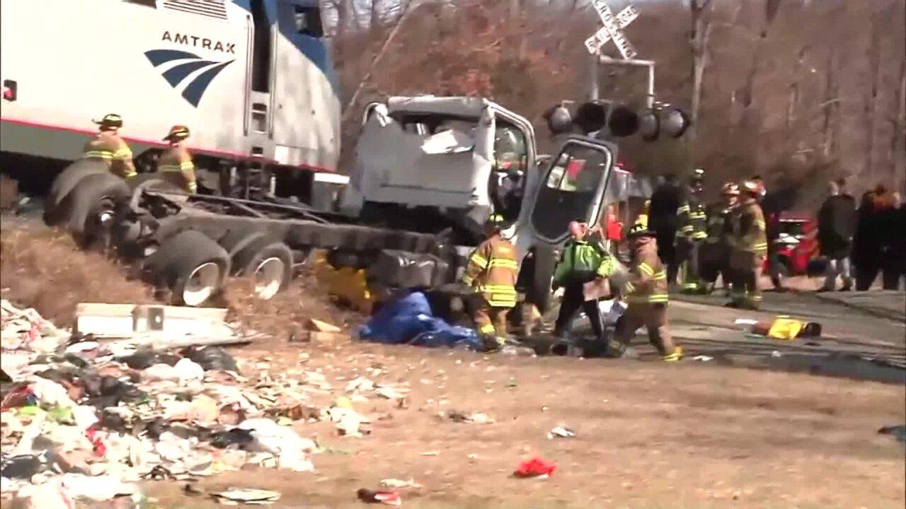 Louisa County man killed in Amtrak train, garbage truckcollision