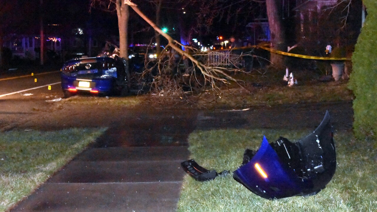 The Niagara County Sheriff's Department is investigating a serious crash in Wilson.