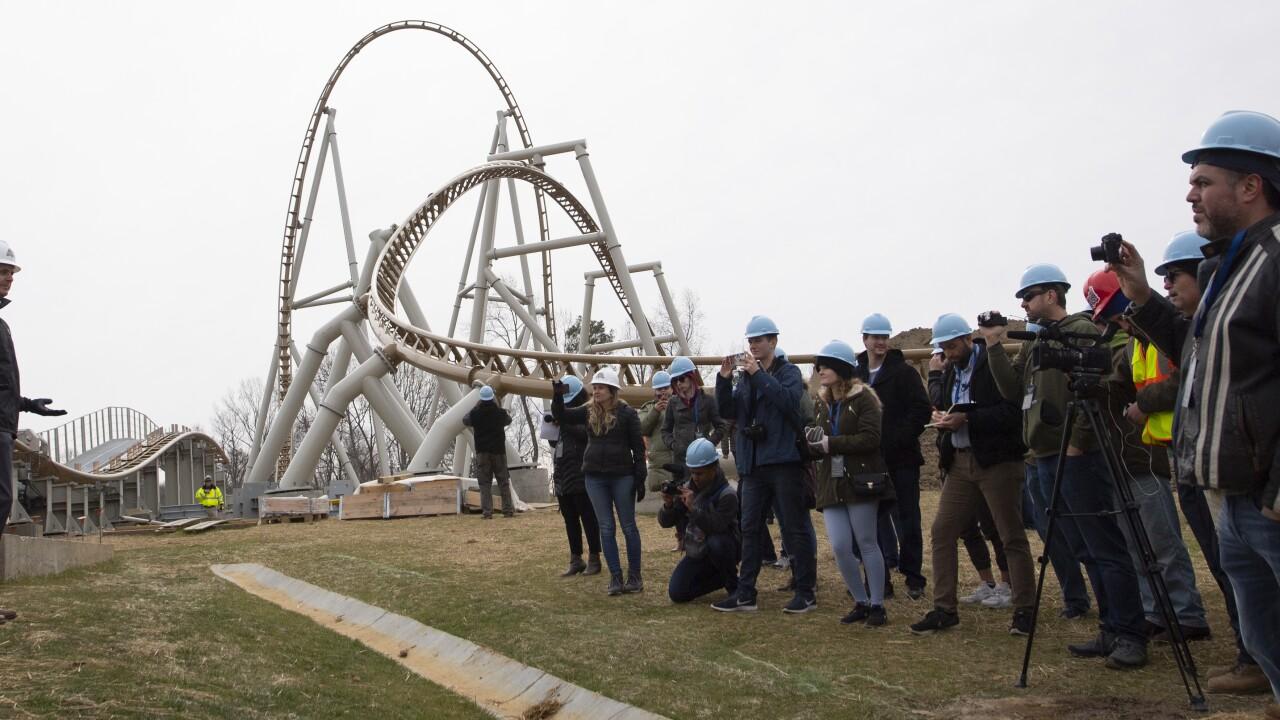 First look at Busch Gardens Williamsburg's newest roller coaster,Pantheon