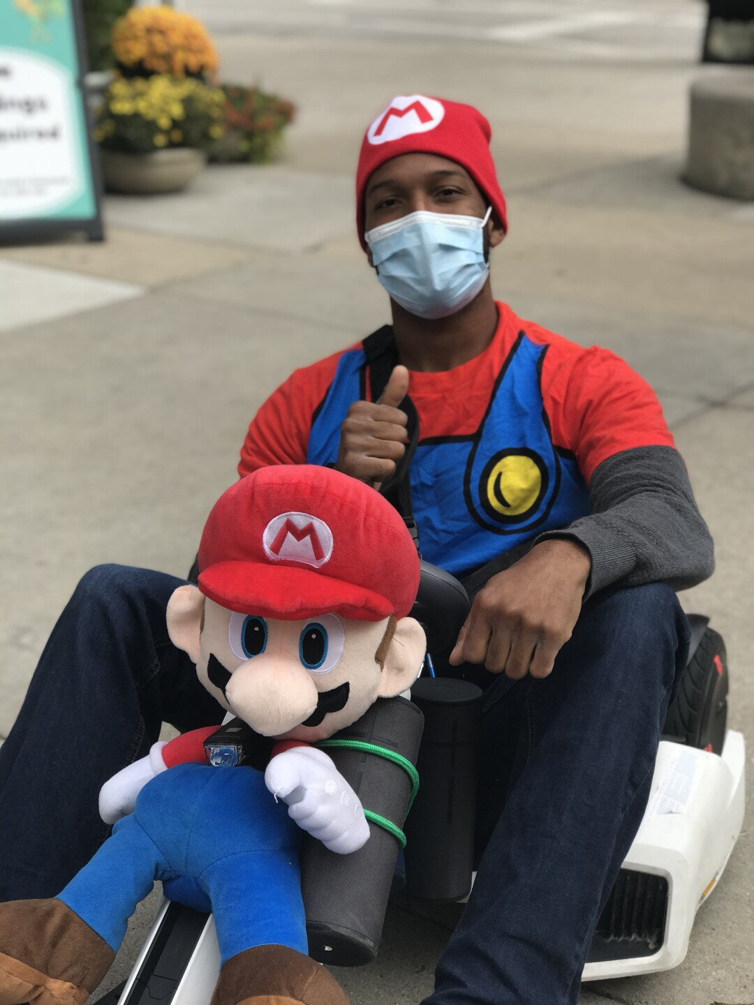Milwaukee Mario a.k.a Josh Schaffer never had an intention of becoming this larger than live character, but it is one he happily embraces.