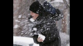 Man detained for throwing snowballs at Berlin US consulate