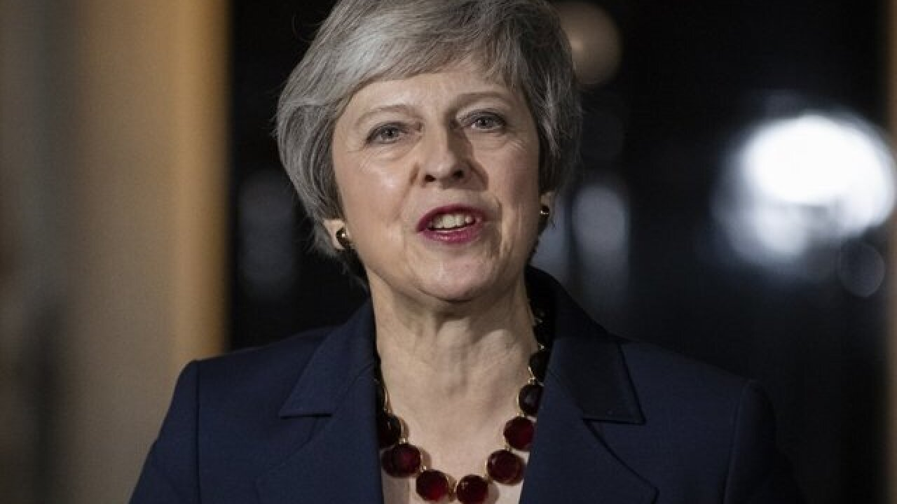 British PM Theresa May survives contentious vote, will continue to lead UK Parliament