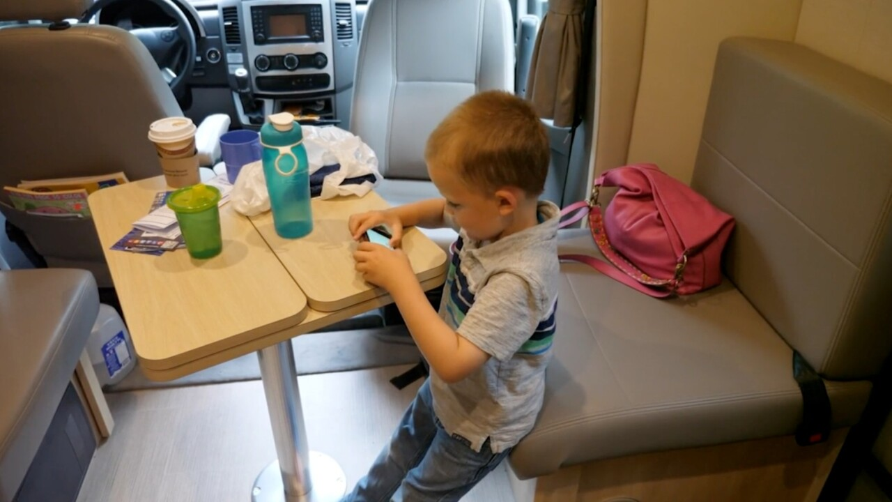 Families choosing to live, home-school and work in RVs amid pandemic