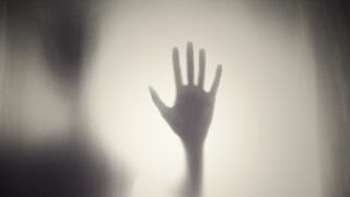Creepy spooky hand