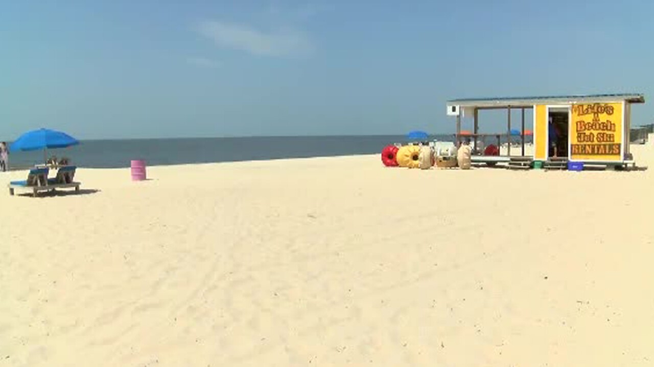 A toxic algae bloom along the Gulf Coast is so harmful it has shut down all 21 beaches in Mississippi.