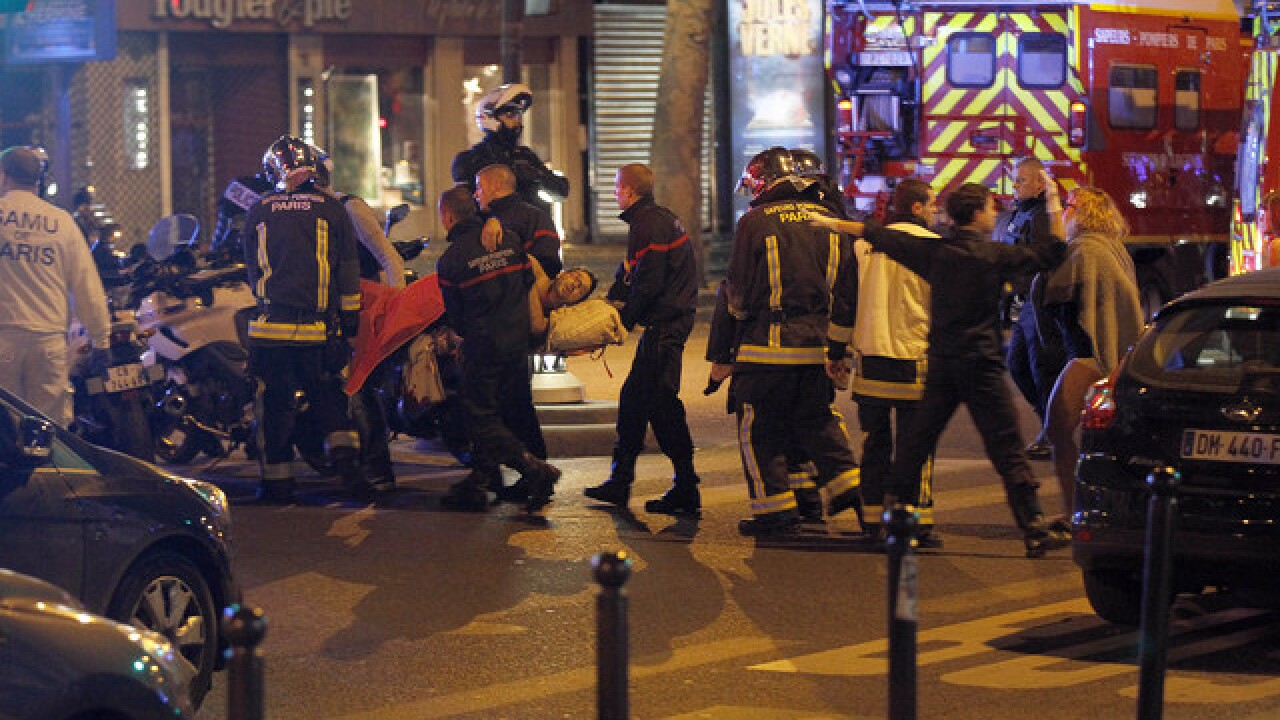 LIVE: The world reacts to attacks in Paris