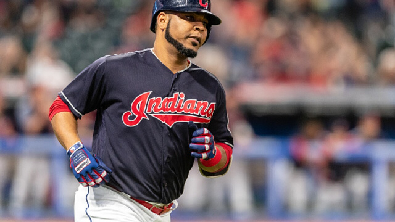 Edwin Encarnacion announces baby gender in the most epic way