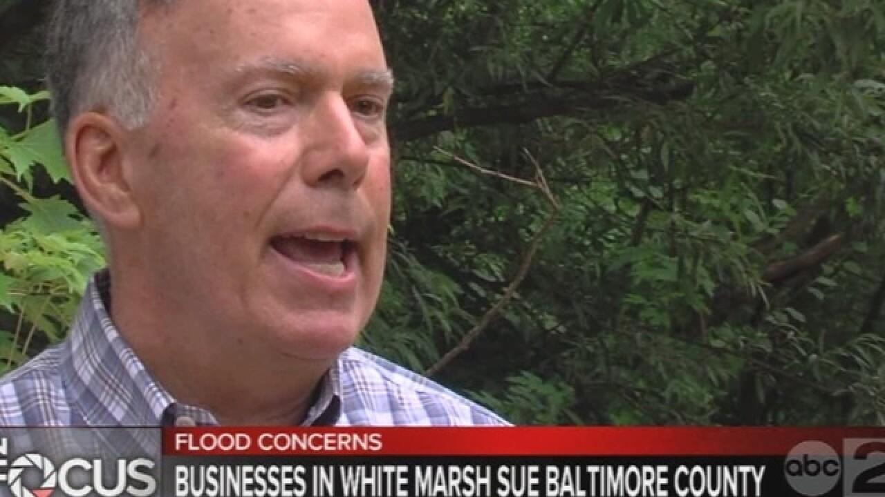 Balt. Co. businesses sue over flooding problems