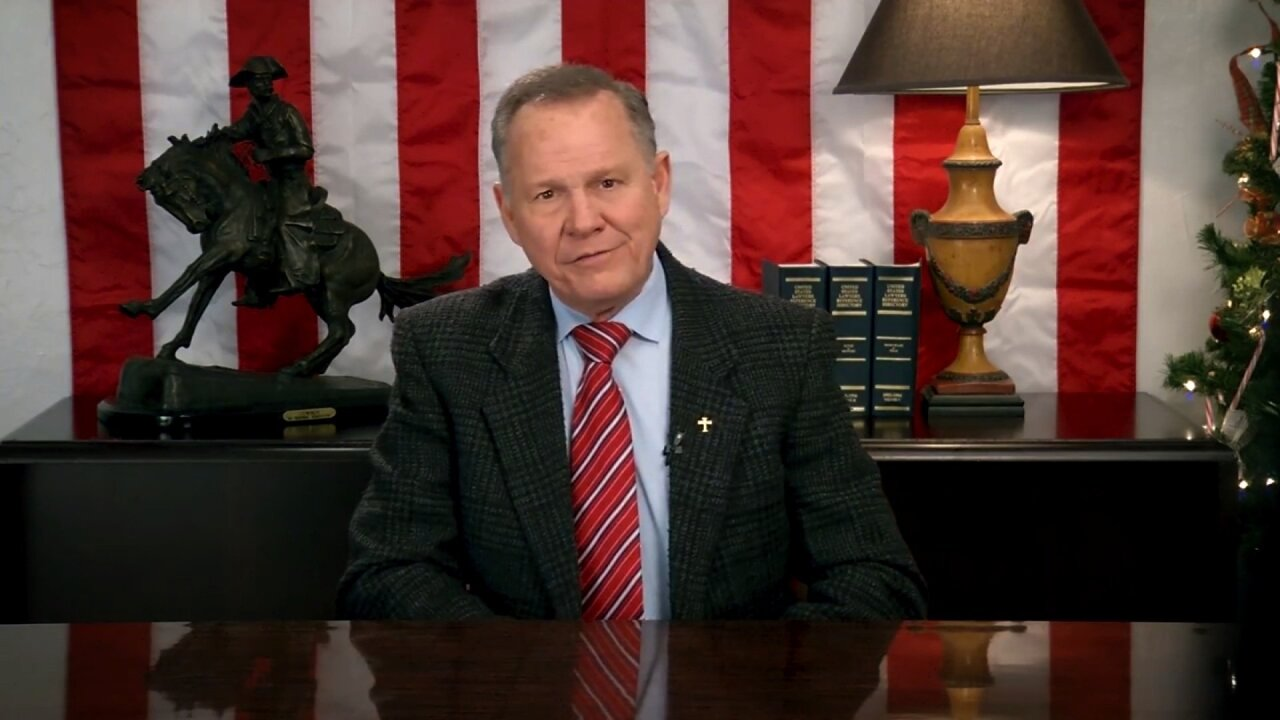 Roy Moore announces he's running for Alabama Senate seat again