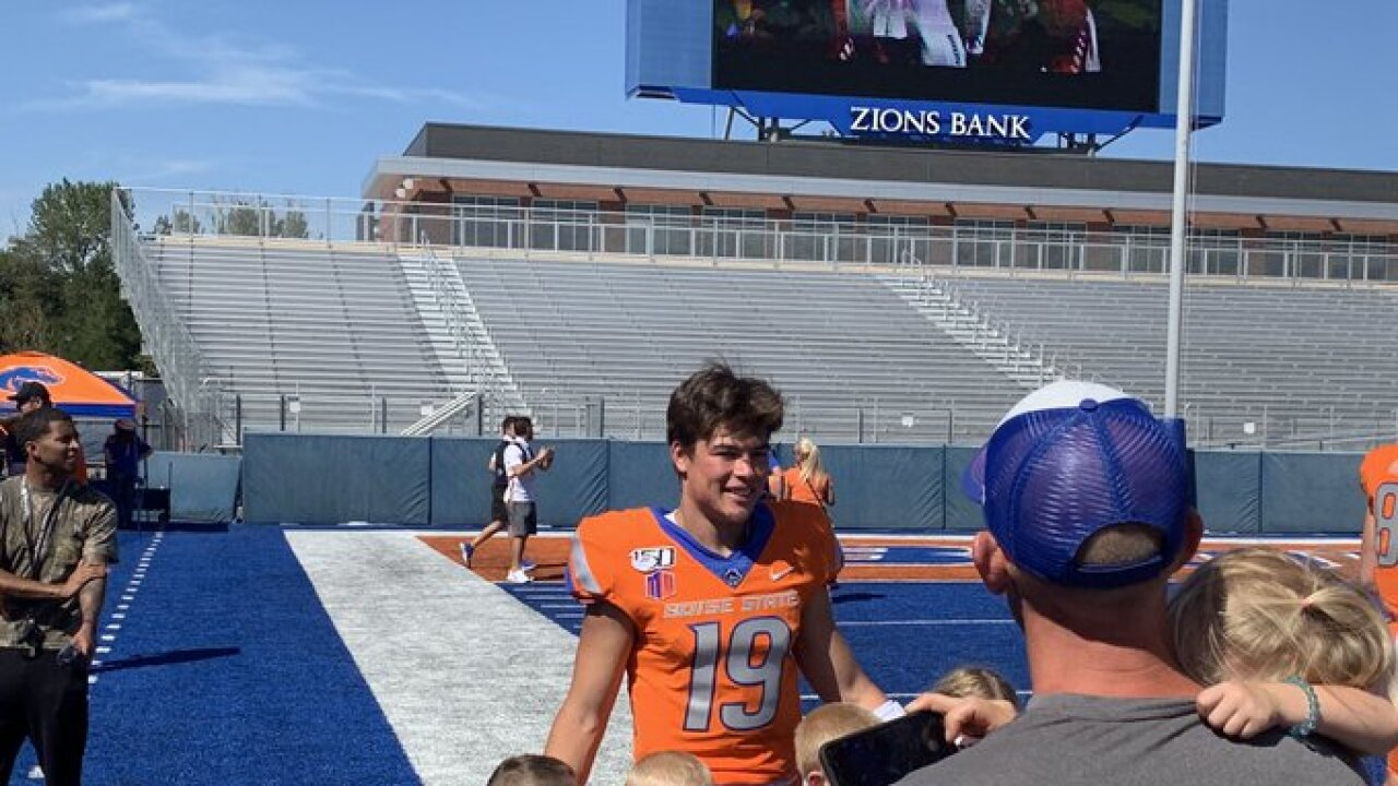 Boise State announces their starting quarterback