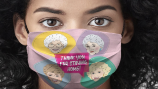 'Golden Girls' Face Masks Are So Cute