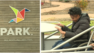 Northside park now offers Richmond's only wheelchair accessible merry-go-round