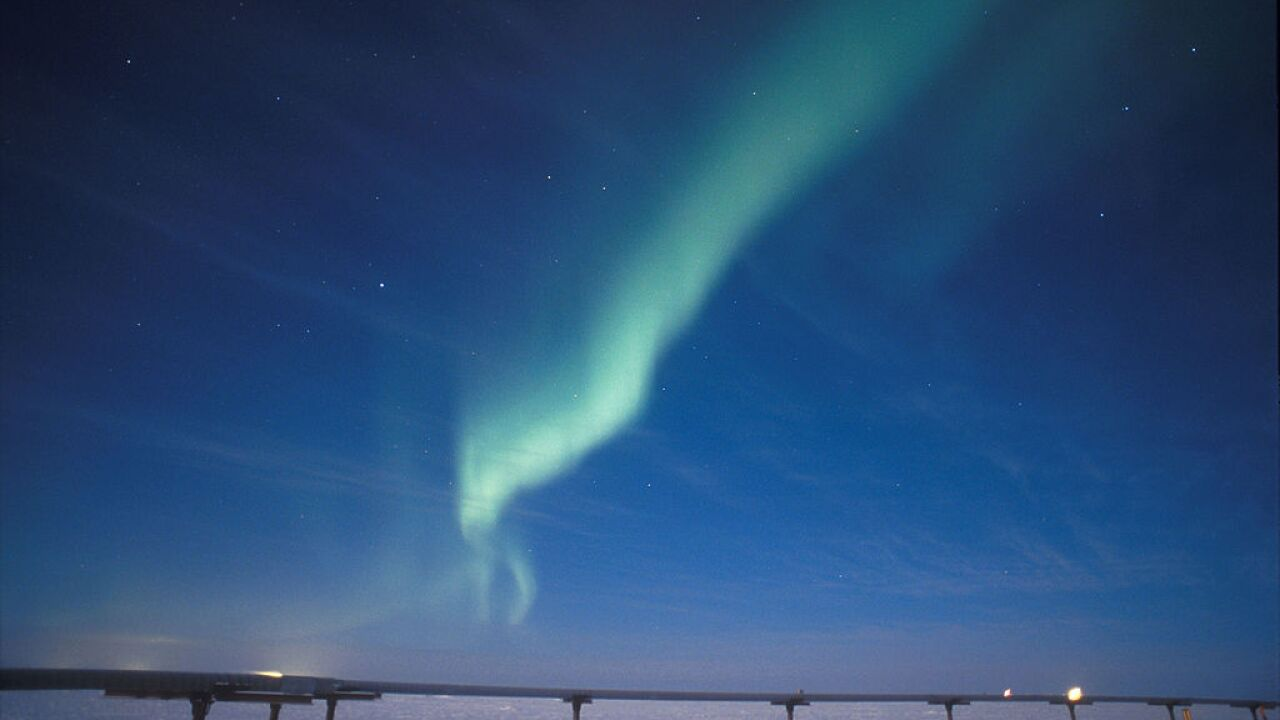 The northern lights will be visible in parts of the US Wednesday night