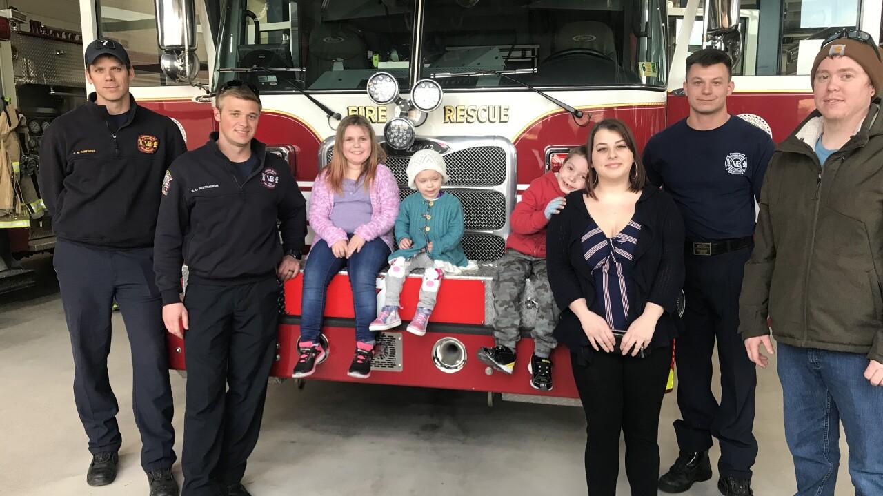 Children severely burned in Virginia Beach mobile home fire finally returnhome