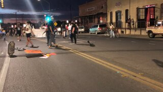 George Floyd protests begin in Tucson