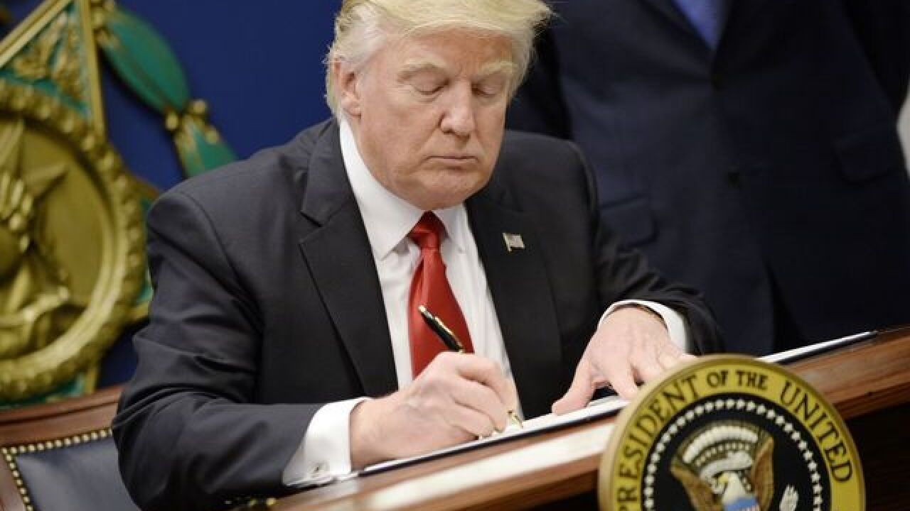 Trump defends executive order concerning extreme vetting