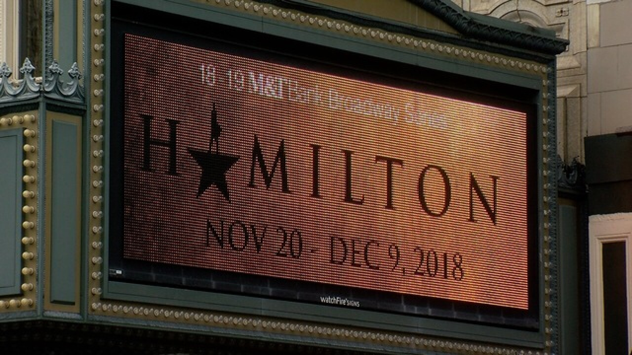 "Watch out for fake ""Hamilton"" tickets in Buffalo"