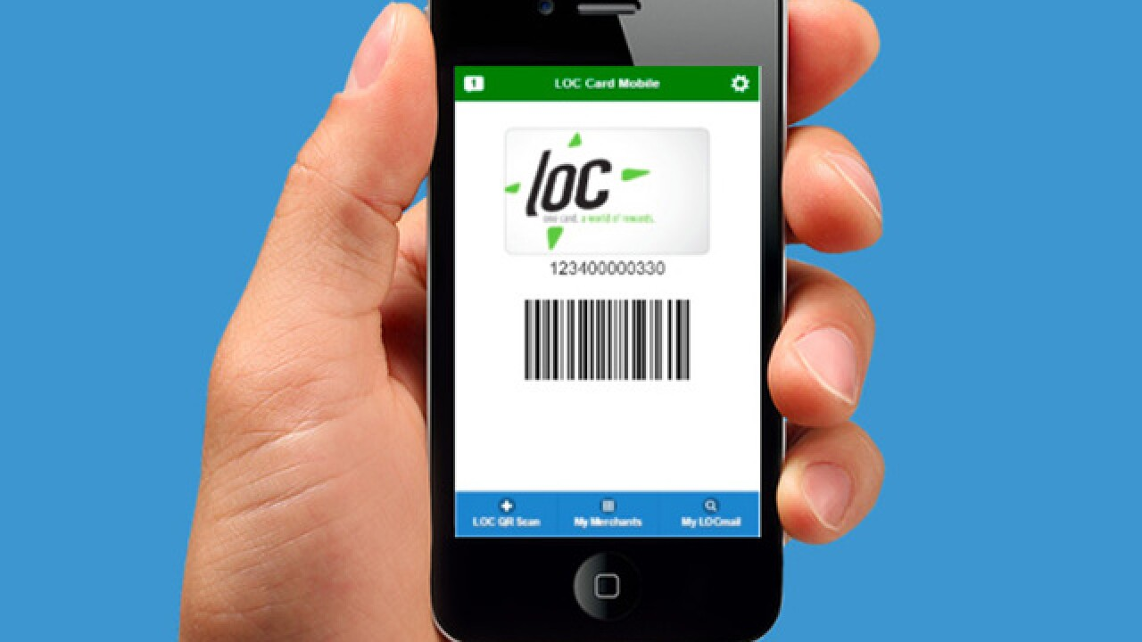 LOC Card gives you access to multiple company rewards programs -- and two free Reds tickets