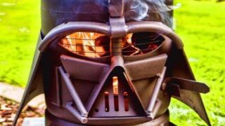 Epic Darth Vader Grill Doubles As A Fire Pit