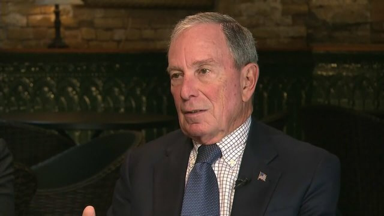 Michael Bloomberg donates record $1.8B to Johns Hopkins