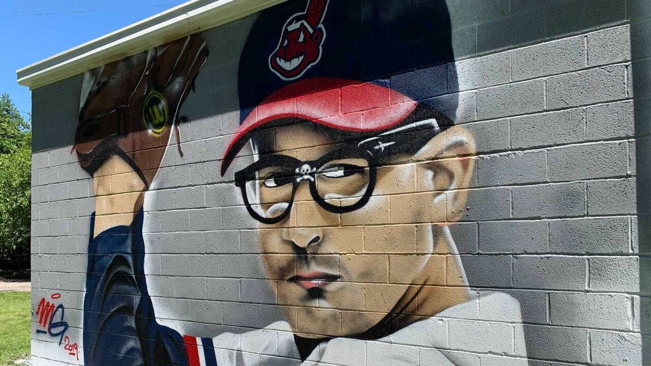Rick Vaughn mural