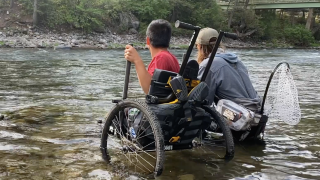 Challenged Athletes and Eagle Mount Fly Fishing Camp