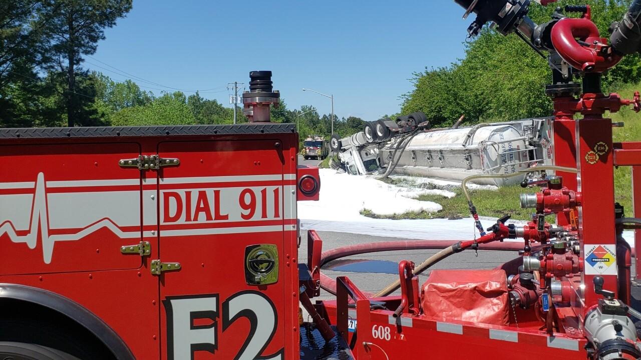 CH Rt. 17 fuel tanker spill (May 24) 2.jpg