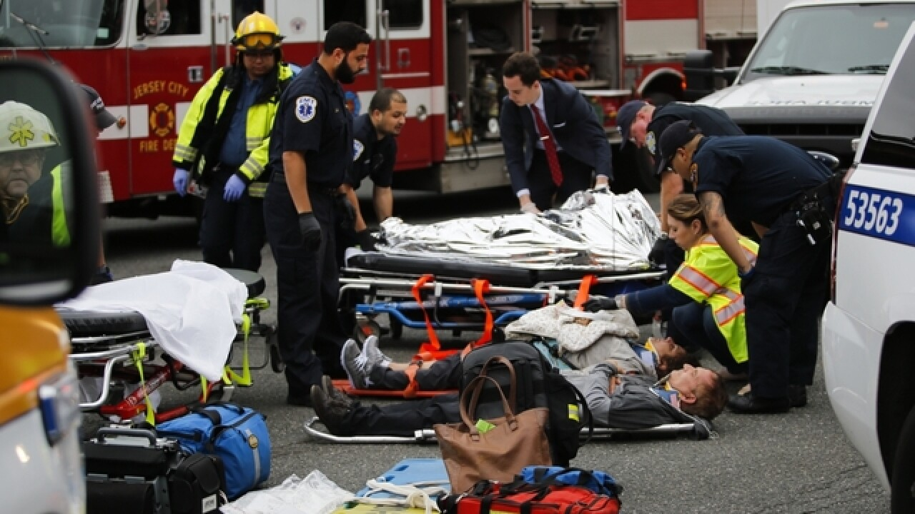 Conductor in Hoboken train crash released from the hospital