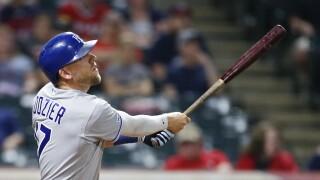 Kansas City Royals v Cleveland Indians Hunter Dozier