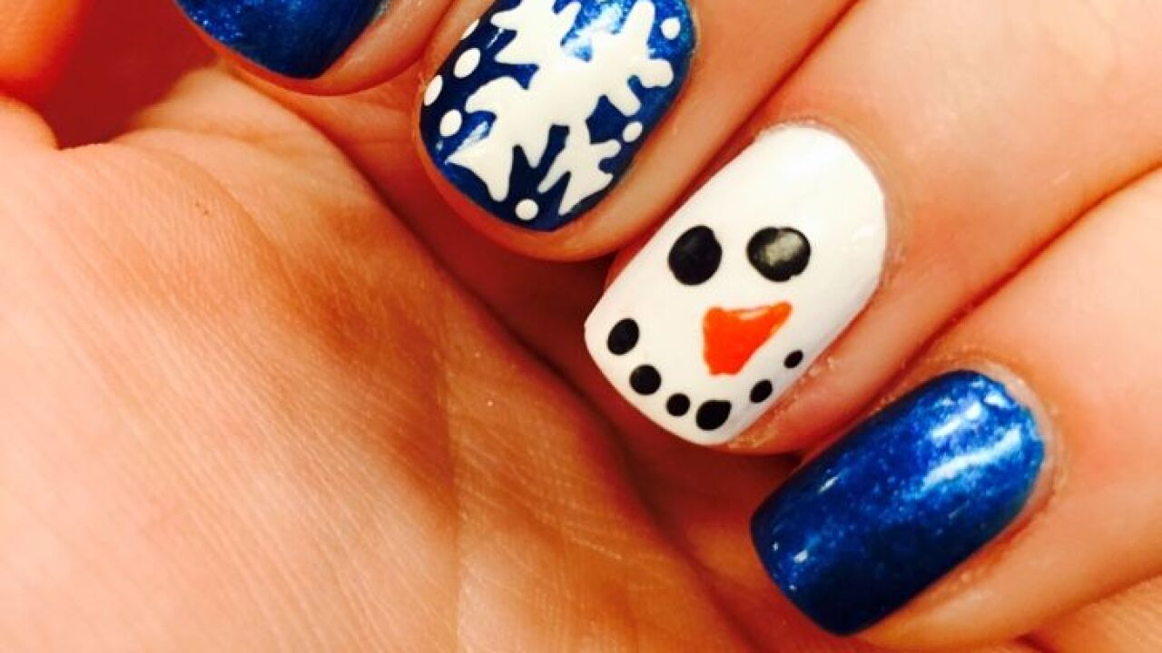 Pinterest Party: A Very Merry Manicure