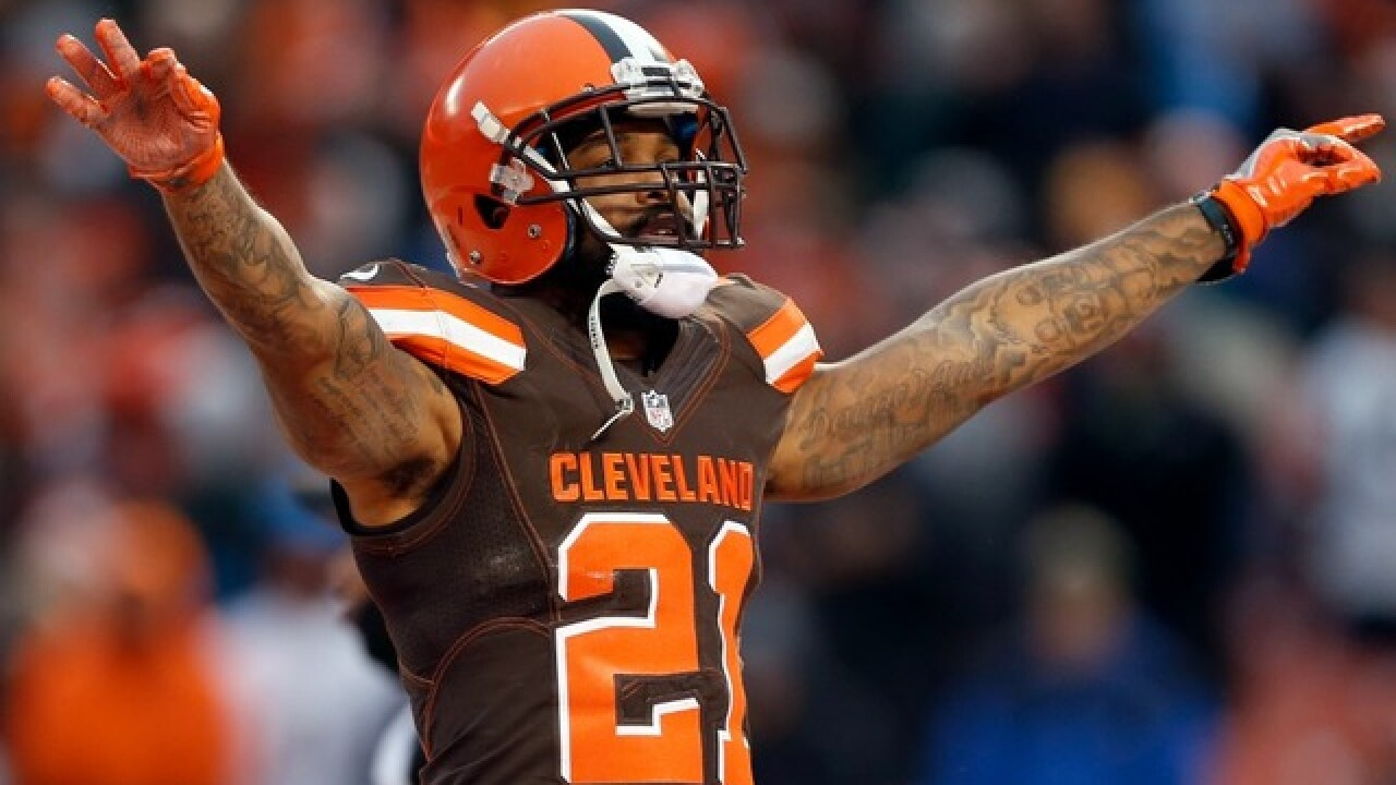 Browns trade starting cornerback Jamar Taylor to Cardinals