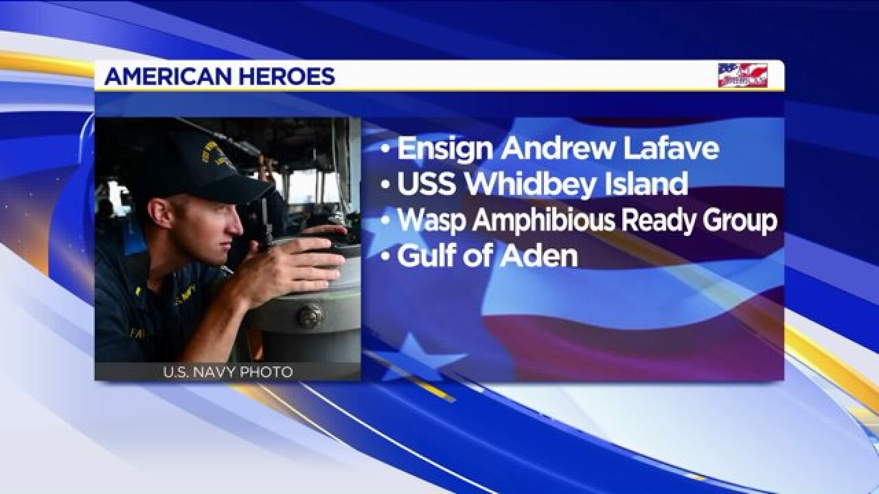 American Heroes: AndrewLafave