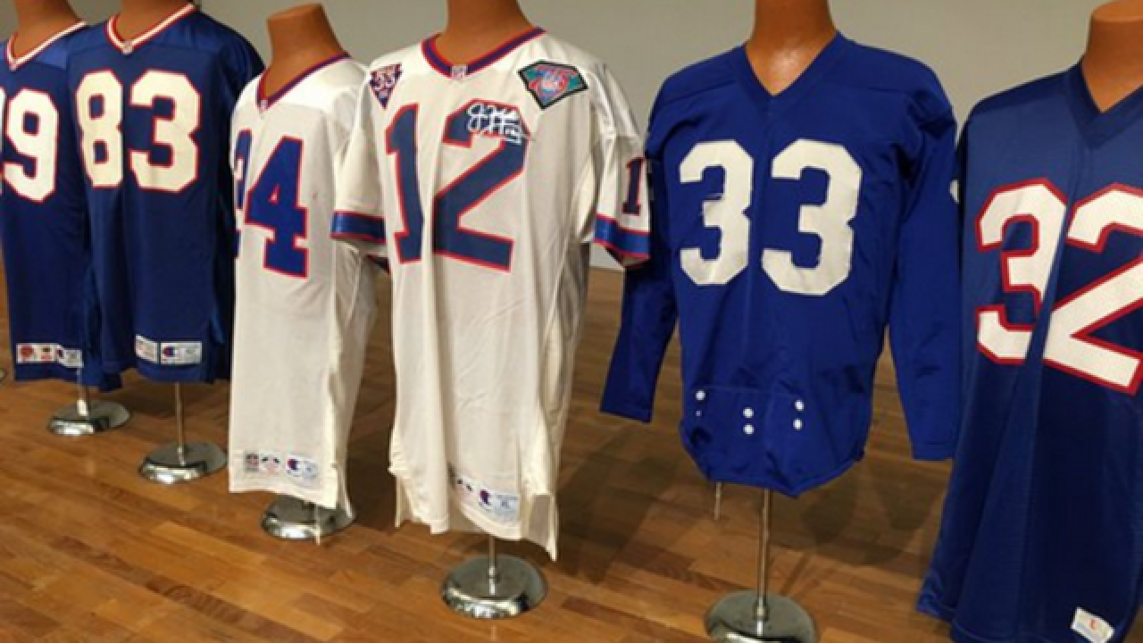 Rare Bills memorabilia now on display
