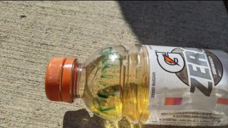 """Woman says a bottle of urine with 'Trump 2020"""" written on it was thrown at her home"""