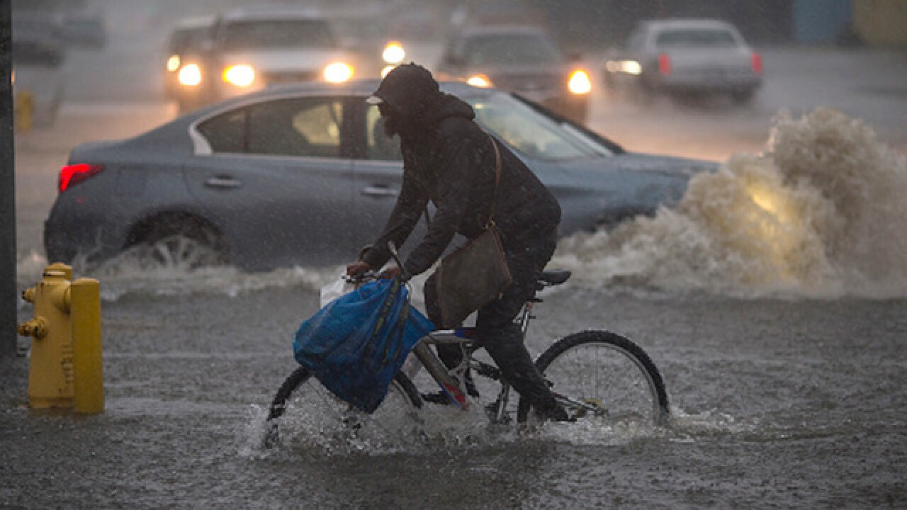 Severe storms kill three in California, more rain expected